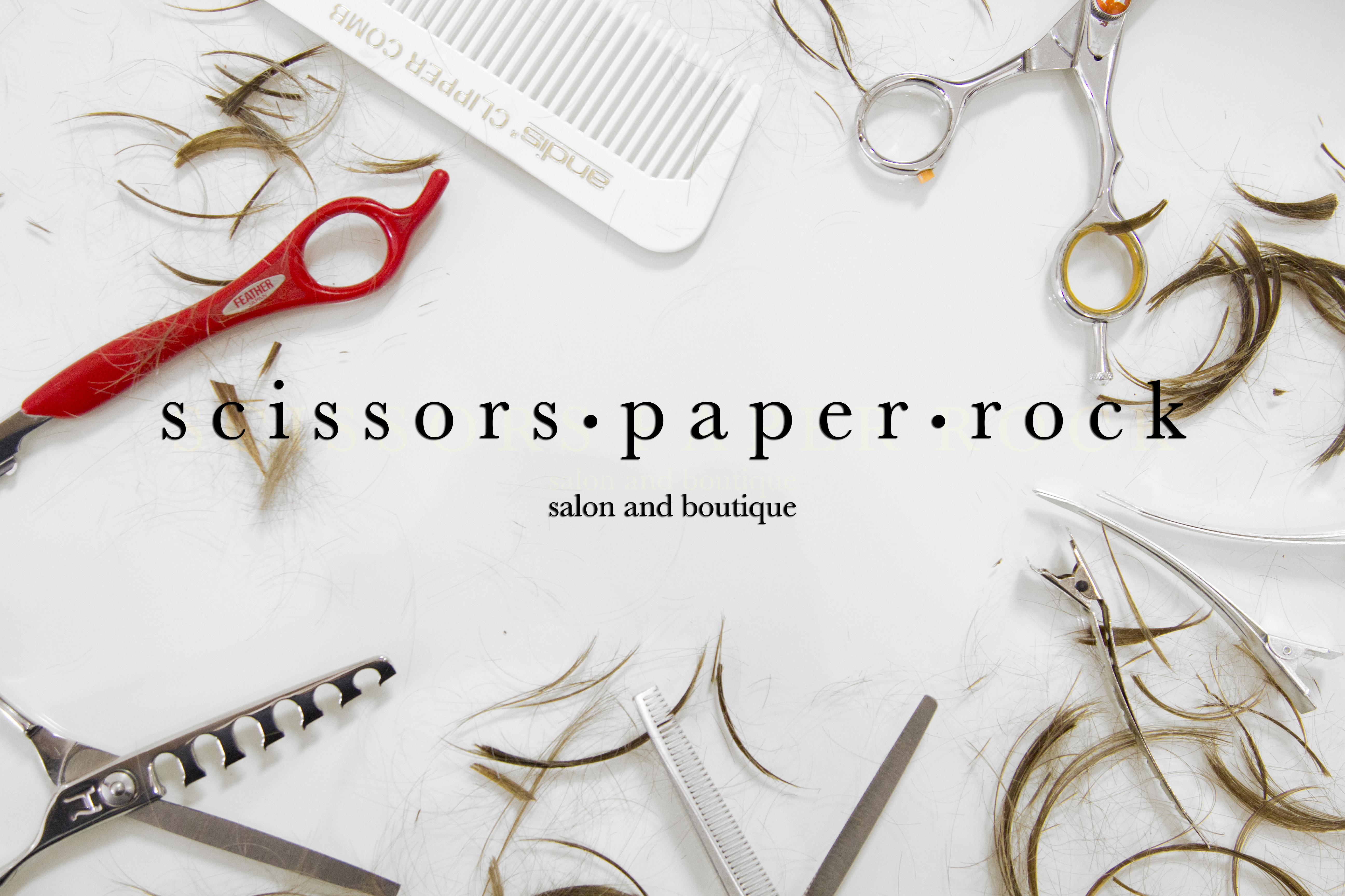 Scissors Paper Rock Salon and B